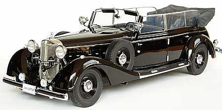 modellauto mercedes 770k pullman cabriolet bj 1938 best. Black Bedroom Furniture Sets. Home Design Ideas