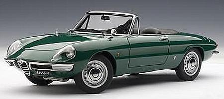 modellauto alfa romeo 1600 duetto spider baujahr 1966. Black Bedroom Furniture Sets. Home Design Ideas