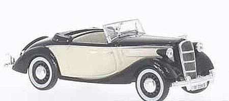 modellauto opel olympia rekord cabrio limousine 1954 1956. Black Bedroom Furniture Sets. Home Design Ideas