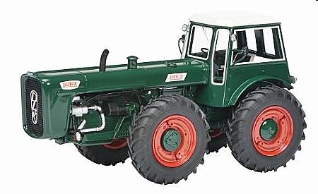 Atlas 1:43 Traktor Eicher ED25 1952 grau