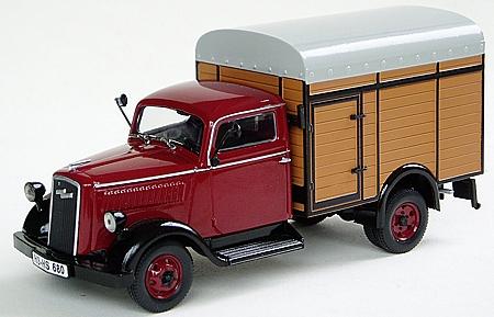 modellauto opel blitz viehtransporter baujahr 1949 best nr ma7959 oldtimer markt shop. Black Bedroom Furniture Sets. Home Design Ideas