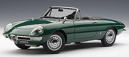 modellauto alfa romeo 1600 duetto spider baujahr 1966. Black Bedroom Furniture Sets. Home Design Ideas
