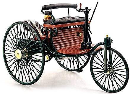 Modellauto Benz Patent-Motorwagen 1886 HQ - Best.-Nr.: MA8661 ...