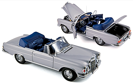 modellauto mercedes benz 280 se cabriolet w111 1968. Black Bedroom Furniture Sets. Home Design Ideas