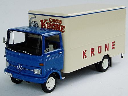 lkw modell mercedes benz lp 608 circus krone kastenwagen. Black Bedroom Furniture Sets. Home Design Ideas